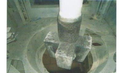 鐵水脫硫用攪拌頭